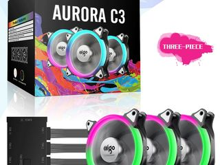 Кулеры для поцессора, Водяное охлаждение, Игровые коврики с RGB подсветкой от компании AIGO!