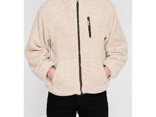 Двусторонняя  демисезонная куртка размер М-L.