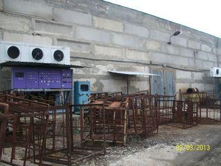 Продаю производственно-складской комплекс (холодильный комплекс) расположенный в г. Кишиневе,на терр