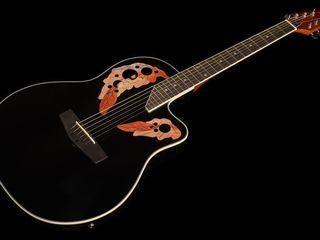 Chitara acustica Harley Benton HBO-850Bk. livrăm în toată Moldova,plata la primire