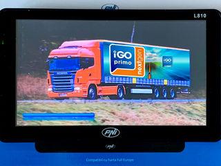 "Sistem de Navigatie GPS PNI L810 7"" inch cu iGO Primo NextGen 3D Map 2019 Full Europa +Camion"