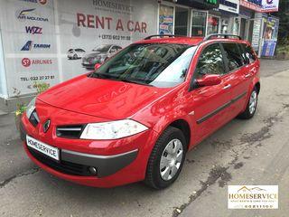 Прокат: Renault Megan - бензин, механика! от 12 до 20 евро в сутки.