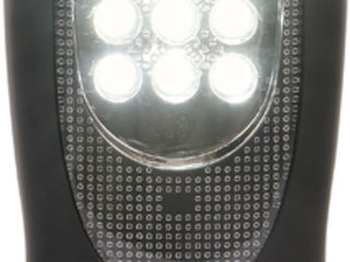 Фонарь с аккумулятором YATO 37 / 7LED YT-08507 / Lanterna portabila cu acumulator