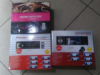 Новые магнитолы не дорого есть(Bluetooth,AUX, флешка, радио, парктроники в комплекте)
