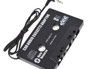 Caseta adaptor pentru casetofon caseta auto mp3/ipod/telefon !!!