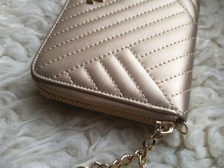 Кожаный портмоне Chanel