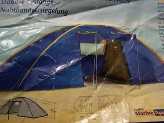 Палатка большая от.4 .до.6.человек...Германия..торг