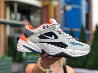 Nike M2K Tekno Grey & Orange Unisex