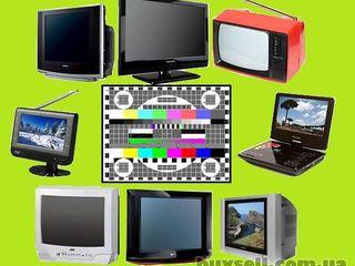 Ремонт телевизоров LCD, LED, плазменных и ЭЛТ на дому. Без выходных
