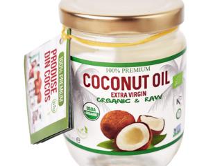 Ulei de cocos in borcan (cu miros și fără)