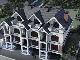 Townhouse! 3 odai + living! Garaj! 225 m.p. Pret 91 000 €