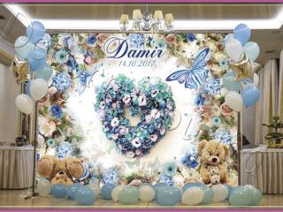 Baloane si fotopanou, fotostand pentru nunta , cumetrie , zi de nastere , botez , corporativ