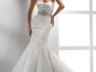 Красивое элегантное платье для невесты!