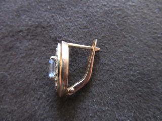 Серьга с бриллиантами