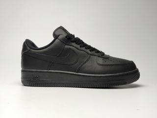 Nike air force i all black leather 41-45