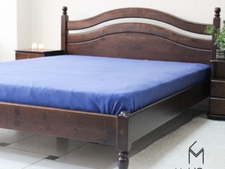 Pat L-208 din lemn natural/ кровать из натурального дерева