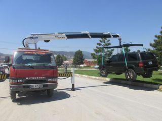 Эвакуаторы со сдвижной платформой / Эвакуатор с краном 24/24.