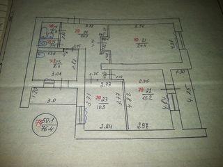 Продается трехкомнатная квартира (возможен обмен, рассрочка)