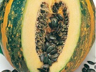 Голосемеанные тыквы. Семеана растут без кожуры .