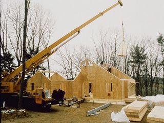 Возведение домов из СИП (SIP) панелей.
