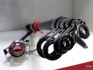 Спиннинг корповик 2.70 - 3 - 3.60 м скидки вместо 780  - 680  леи + подарки