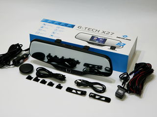 Новый двухкамерный видеорегистратор-зеркало,Neoline G-Tech X27  Гарантия
