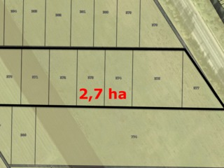 La traseu !!!Stauceni teren 2,7 ha la traseul international chisinau - orhei , 3 km de la chisinau!