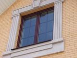 Фасадные работы. Архитектурный фасадный декор. Пенопласт. Фигурная резка пенопласта.