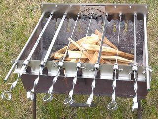 Электрошашлычница для мангал гратар