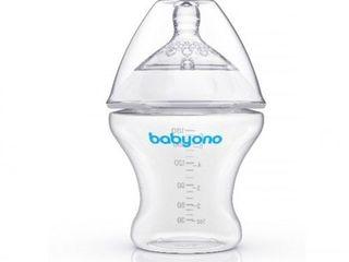 Антиколиковая бутылка с широким горлышком BabyOno 180 ml