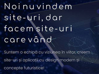 Creare website / Creare site web la comanda / Создание сайтов / сайт на заказ