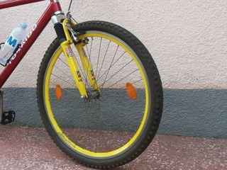 """Передняя вилка Rock Chox  колёса Schurmann (Germany) 26"""" двойной алюминиевый обод шины KENDA"""