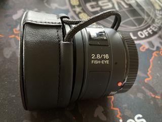 Sony 16mm f2.8 Fish-Eye