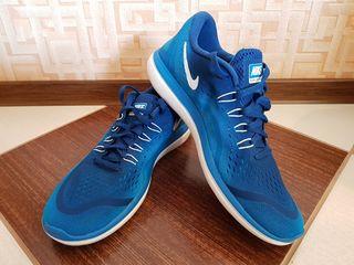 Nike, New Balance, Reebok.