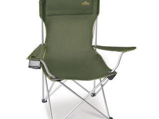 Раскладной стул Pinguin Fisher Chair Green / Petrol для рыбалки и отдыха на природе
