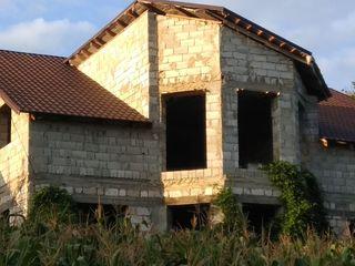 Casă nouă cu două nivele Strășeni satul Miclăușeni