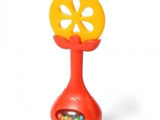 Прорезыватель с погремушкой Juicy Orange