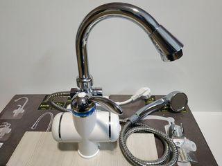 Robinet electric cu duş la cel mai bun preţ Topwork ! BEF 001-03 3kw garantie 1 an cu livrare gratis