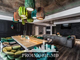 Ciocana! Penthouse cu privelește minunată și design individual - 286 mp + 60 mp terasă!