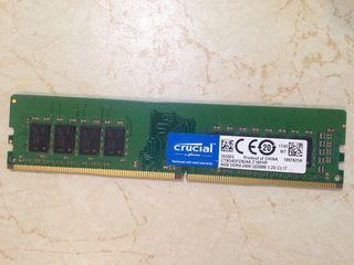 Crucial DDR4 8GB 2400MHZ UDIMM CL17