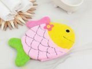 "Мочалка варежка детская, ""Рыбка"""