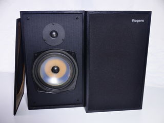 Rogers LS4a Hi Fi speakers factory matched pair 3058a & 3058b BBC monitors MADE in UK