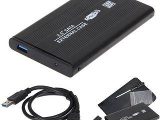 """корпус для HDD 2.5"""" USB 3.0 SATA. Вставляем хард диск от ноутбука и получаем внешний диск USB 3.0."""