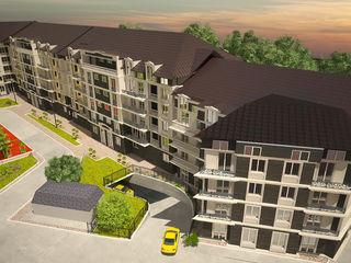 Apartamente cu 1 si 2 odai, centru, de la 580 euro/m2 direct de la constructor