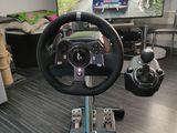 Logitech g920 + Shifter+ Wheel stand pro