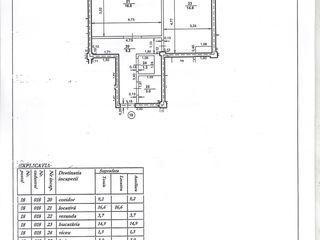 Vând apartament în r-l Ialoveni, str.Timișoara nr.8/2, varianta alba