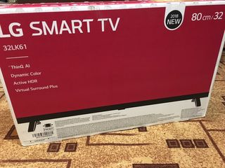 LG 32LK610BPLB, HD Ready, Smart TV, webOS, Wi-Fi, CI+model 2018 nou in cutie doar la 4800lei..