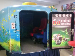 6D кинотеатр мини на два посадочных места эффект полного присутствия супер ощущения!