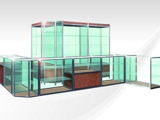 Vitrine comerciale pentru magazine, farmacii - Стеклянные витрины