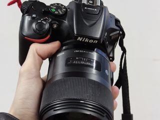 Nikon D5500 Kit + Sigma 35 f1.4 Art + YN968N II + Аксессуары